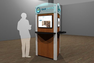 City of Oak Creek Custom Kiosk