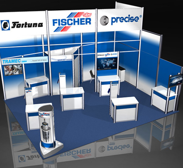 IMTS Show Rental Display