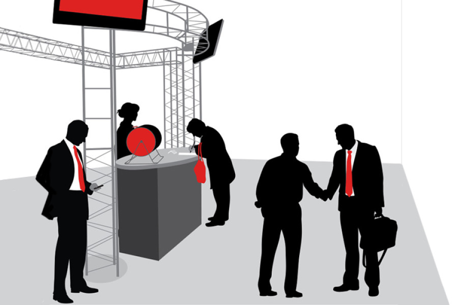 How great greetings encourage conversations in your trade show booth