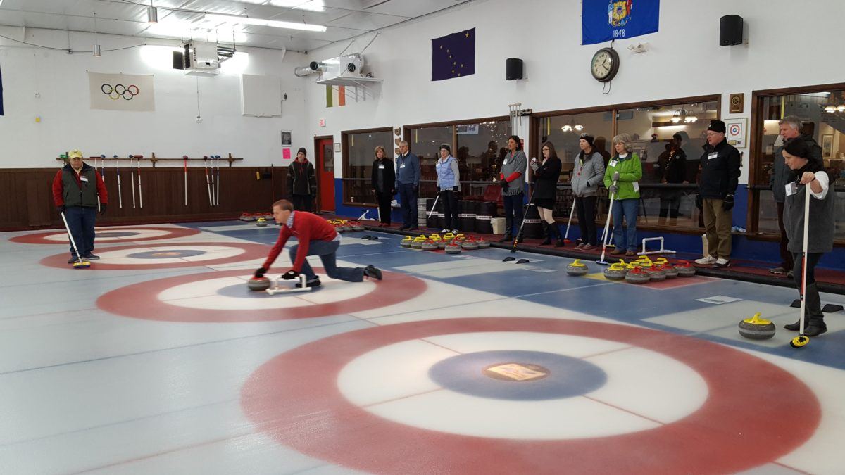 Christmas Curling 2016