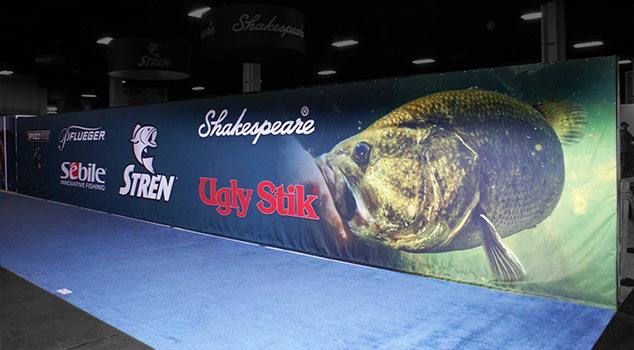 Partnering with Pure Fishing at the 2015 Bassmaster Classic Outdoors Expo