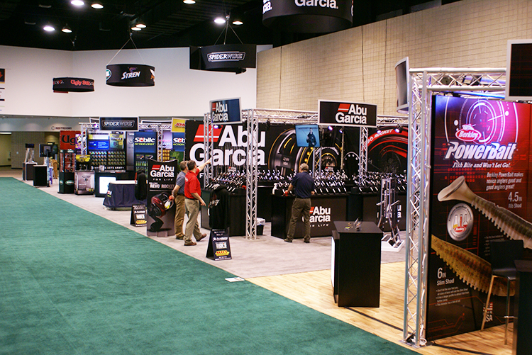Series of Trade Show Booths