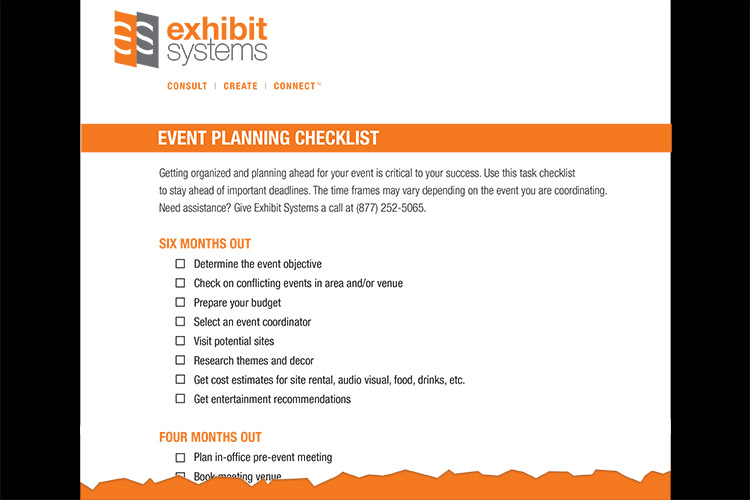 Event Planning Checklist snippet