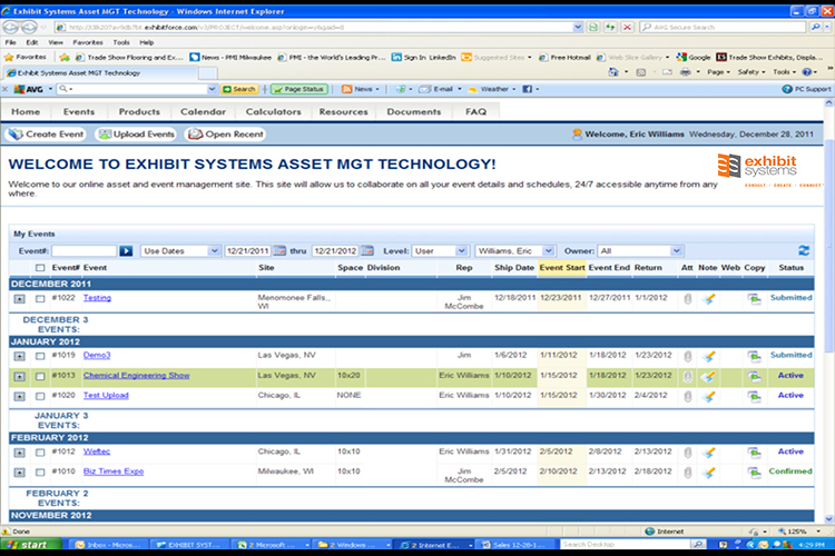 Online Asset Management UI 3