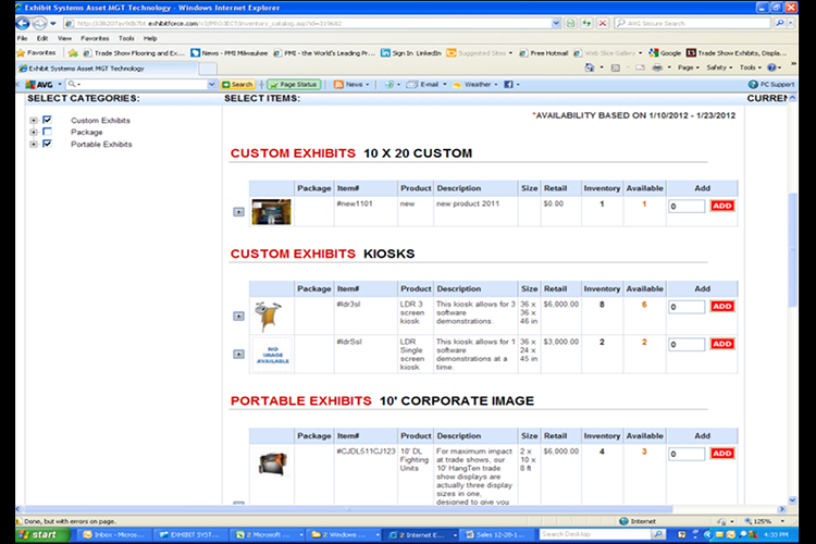 Online Asset Management UI 2