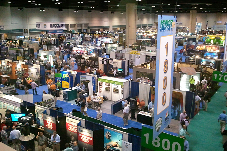 Overview of Tradeshow - Birdseye View