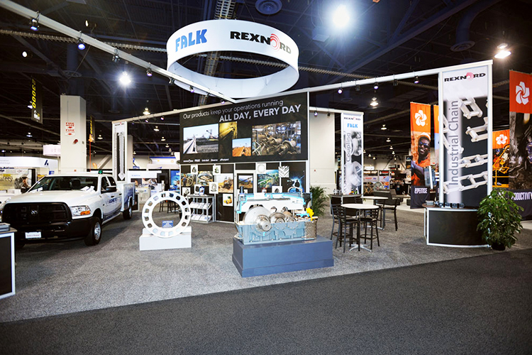 Rexnord Custom Trade Show Exhibit