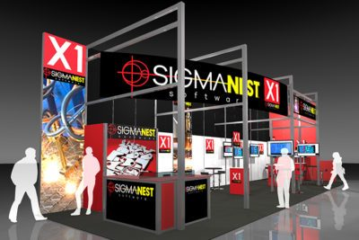 SigmaTEK Systems, LLC at Fabtech 2016 in Las Vegas