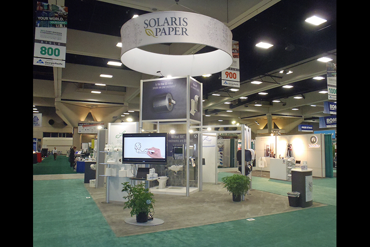 Solaris Paper Custom Tradeshow Exhibit