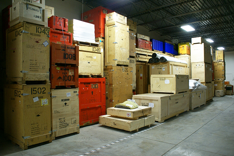 Trade Show Warehousing and Logistics