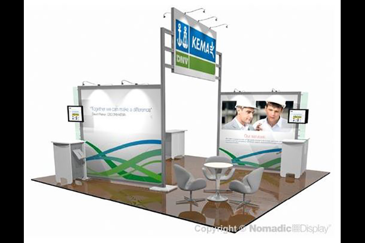 20' x 20' Pop-up Display