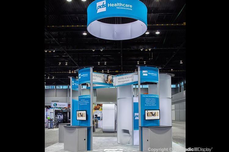 PDS Healthcare Custom Booth