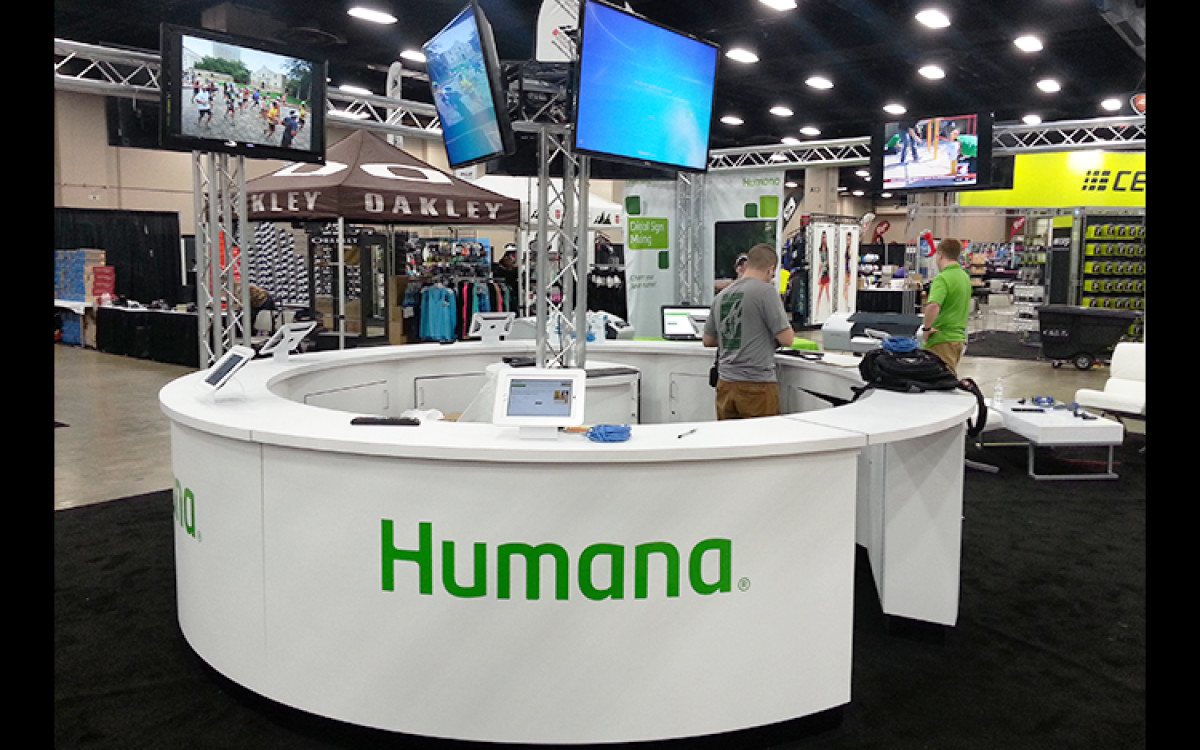 Humana Custom counter