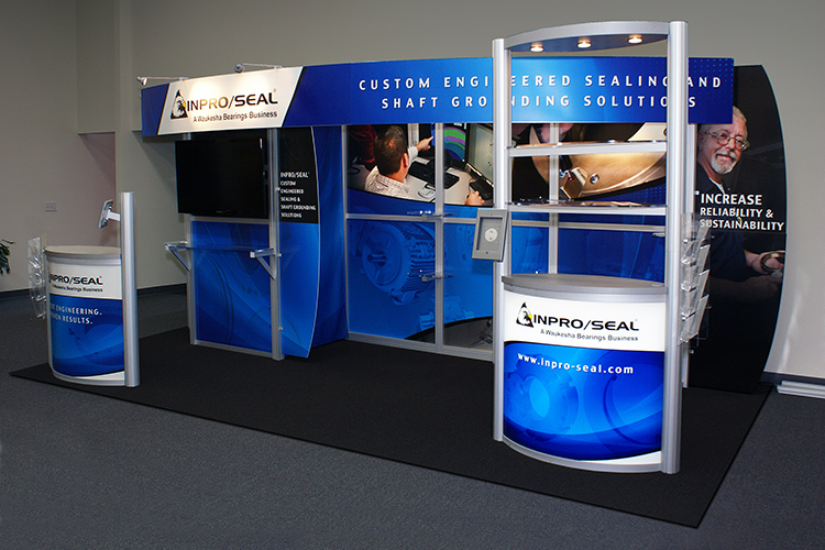 10′ x 20' Inline Display for Inpro/Seal