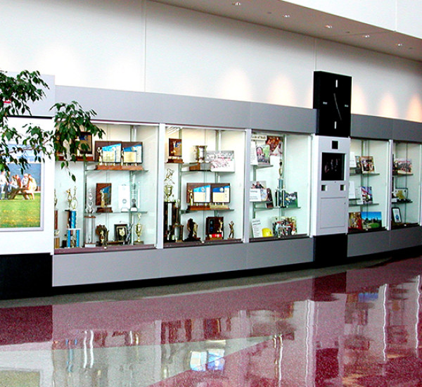 Milwaukee School of Engineering Trophy Case