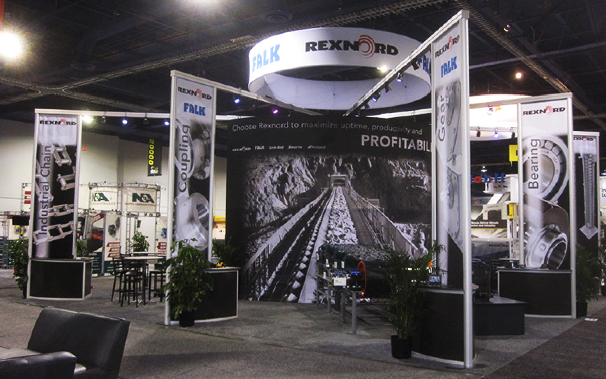 Rexnord Custom Exhibit