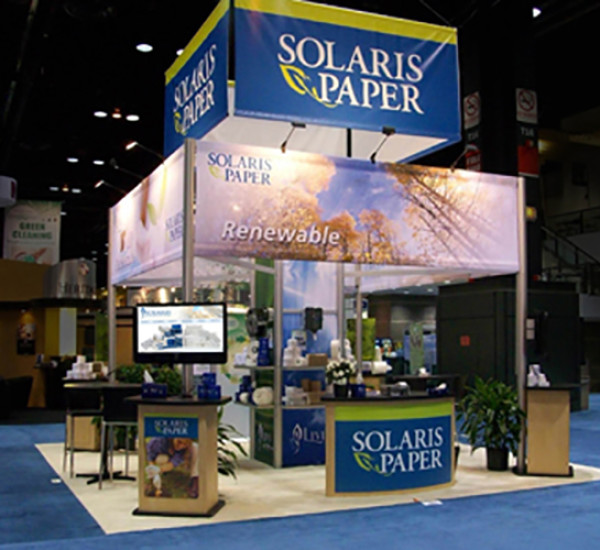 Solaris Paper Custom Rental Exhibit