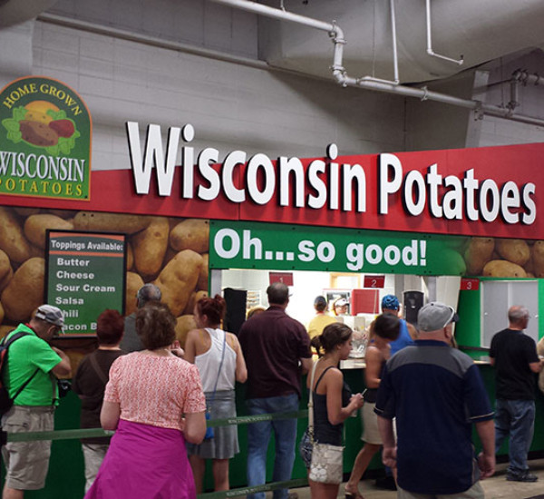 Wisconsin Potato Growers at the Fair!