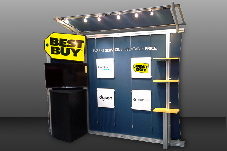 Best Buy Portable Exhibit