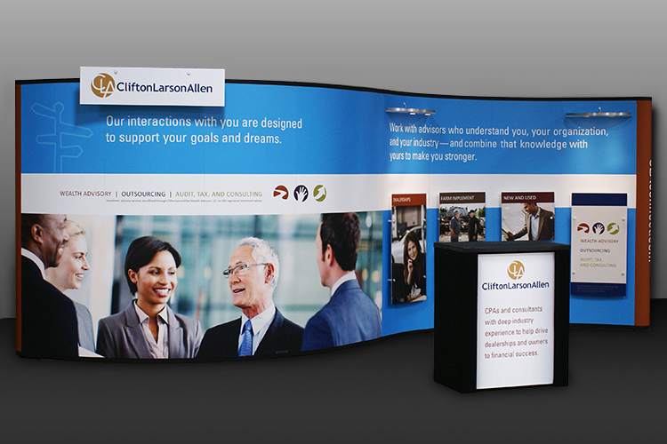 Eye-Catching, Versatile & Cost-Effective.  What's Not to Love About Portable Displays?