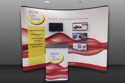 Industrial Fluid Solutions Portable Display