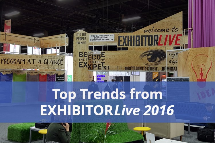 Top Trends from Exhibitor Live Show 2016