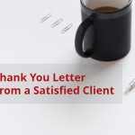 Satisfied client letter