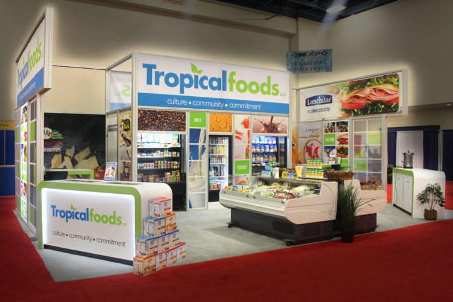 Tropical Foods LLC at the America's Food and Beverage Show