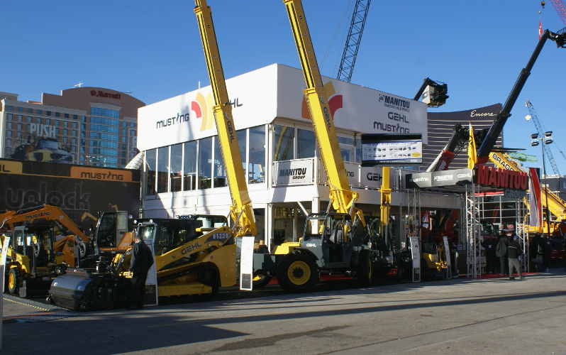 A Glimpse from the Trade Show Floor: CONEXPO-CON/AGG 2017
