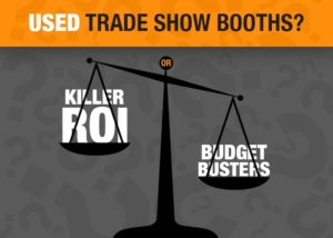 Used Trade Show Booth : Used trade show booths killer roi or budget busters exhibit