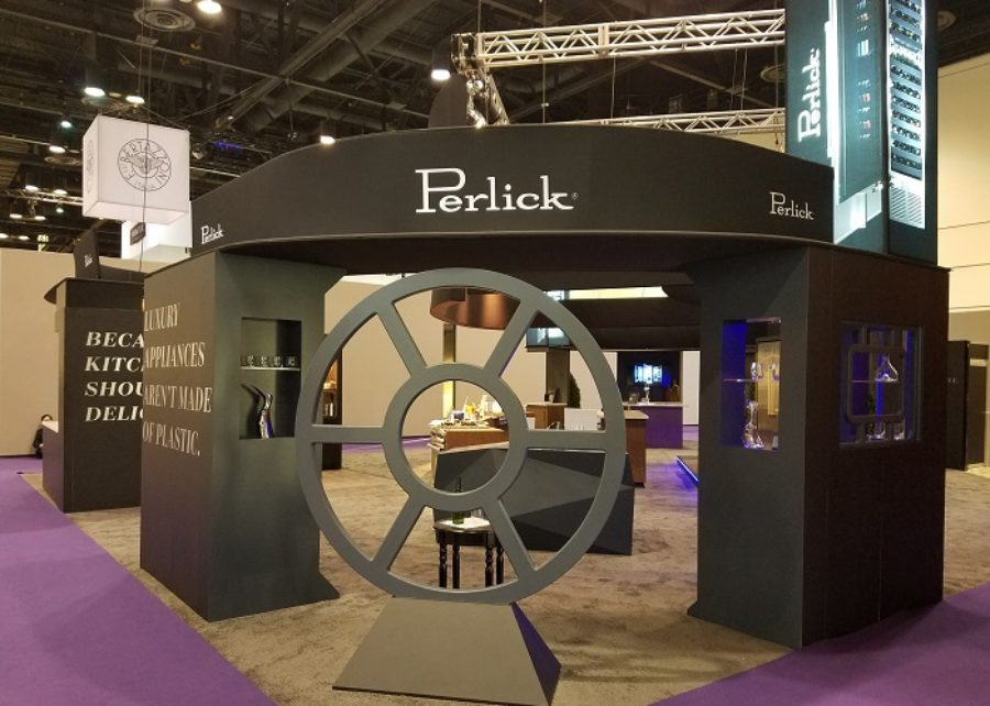 Custom Trade Show Booth for Perlick at KBIS 2018