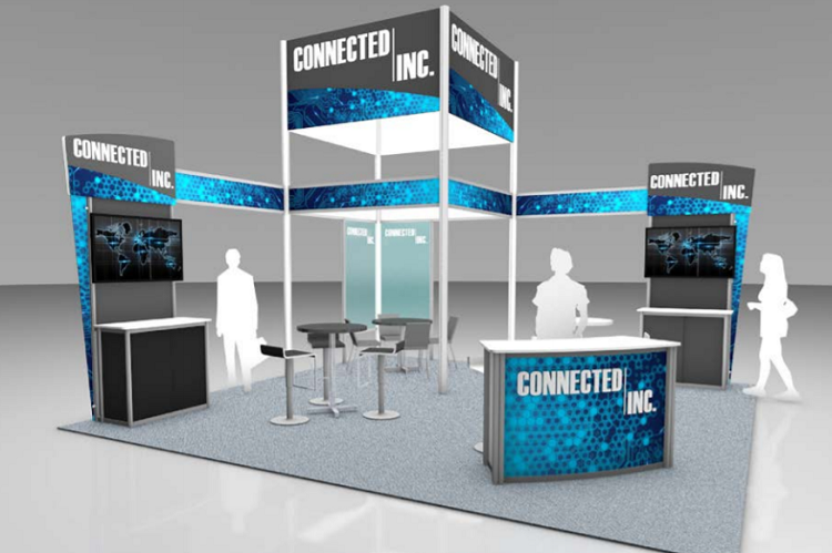 "Custom Rental Trade Show Exhibits Give the ""WOW"""