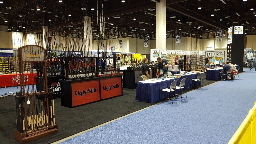 Build your booth to scale up, like this 80'x100' display