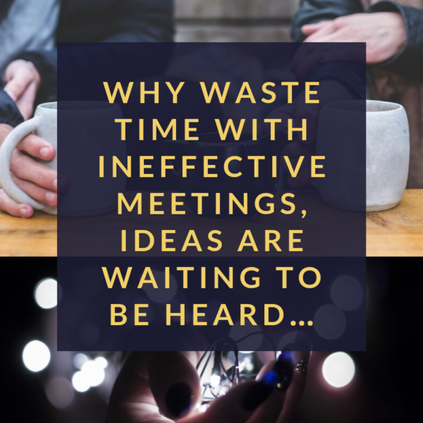 Five Tips for More Productive Meetings