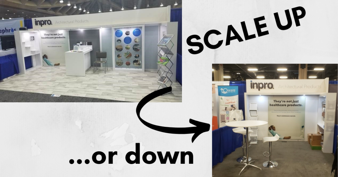 Building a Trade Show Exhibit with Scalability in Mind