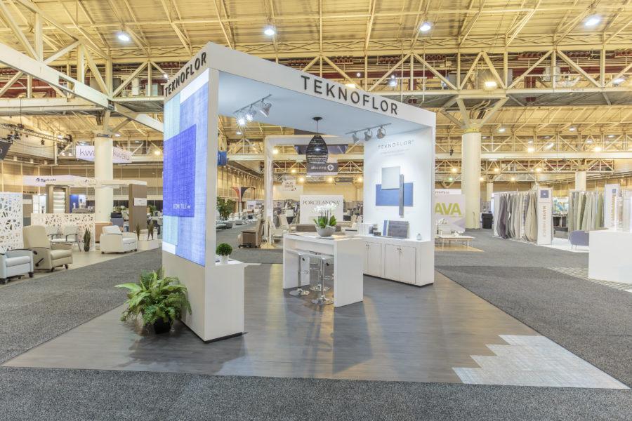 Teknoflor®: Custom Modular Exhibit