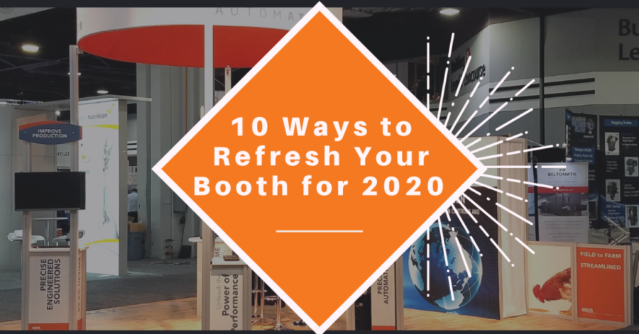 10 Ways to Refresh Your Trade Show Booth