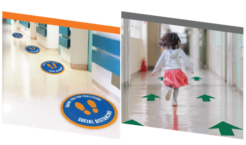 COVID-19 Safety Products: Floor Decals
